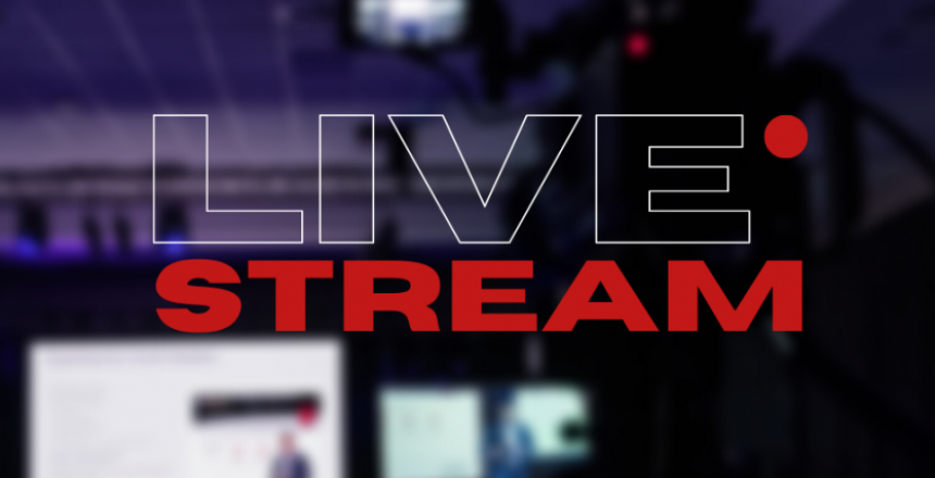 Live streaming conference